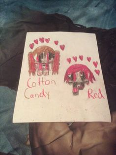Cotton Candy and Red by Kaylee Alexis