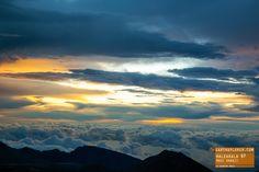 Cloudy Morning at Haleakalā National Park, Maui Hawaii