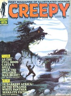 Cover for Creepy (Warren, 1964 series) #23  October 1968