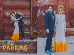 Retro Tropical Wedding Inspiration - Weddbook