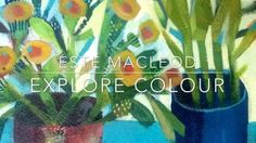 A short demo showing Este MacLeod's working process in creating her inimitable, energetic and colourful paintings.