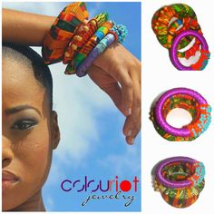 Bangles available from www.colour-riot.com