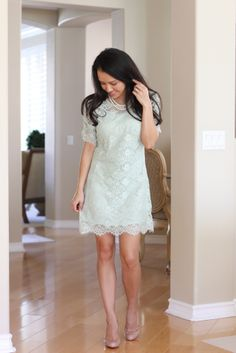 lace mint dress - Google Search