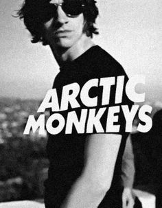 Simple, but great poster. #arcticmonkeys