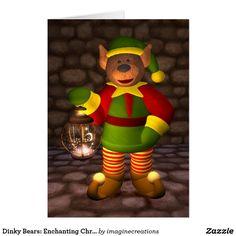 Dinky Bears: Enchanting Christmas Card