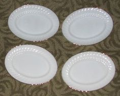 Golden Swirl Pattern Platters