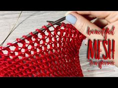 3 Little Known Tips for Shopping for Craft Supplies Online Knitting Stiches, Knitting Videos, Loom Knitting, Knitting Projects, Stitch Patterns, Knitting Patterns, Crochet Patterns, Crochet Hooded Scarf, Knit Crochet