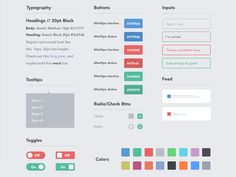 """Leanify"" Your Startup Design With Style Guides Web Style Guide, Style Guides, App Style, Grid Design, App Design, Flat Design, Design System, Studio Design, Graphic Design"