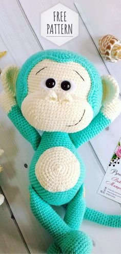 Free Crochet Monkey Pattern Free Pattern Amigurumi Monkey Free Crochet Patterns Amigurumi Free Crochet Monkey Pattern Heart Sew Cheeky Little Monkey Free Crochet Amigurumi Pattern. Crochet Monkey Pattern, Crochet Amigurumi Free Patterns, Cute Crochet, Baby Knitting Patterns, Crochet Crafts, Crochet Dolls, Crochet Projects, Knit Crochet, Crochet Baby