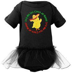Inktastic Baby Girls' 1st Cinco de Mayo Chick Infant Tutu Bodysuit - $29.99  www.teelieturner.com