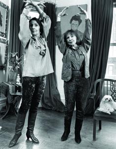 Edwina Fontaine & Romana Kryzanowska photographed by Mary Ellen Mark for Mirabella magazine,1994