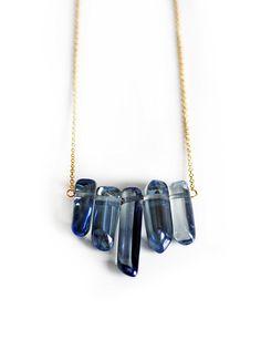 mystic quartz necklace