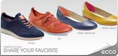 EXPLOZIE de CULOARE in noua colectie ECCO! Care este modelul vostru preferat? Sneakers, Casual, Shoes, Fashion, Tennis, Moda, Slippers, Zapatos, Shoes Outlet