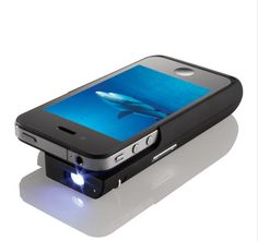 Turn your iPhone into a projector | 10 High-Tech Gadgets For Weirdos