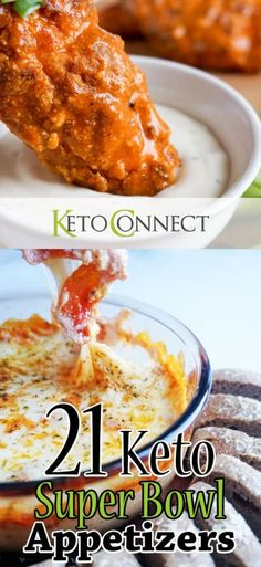 The 21 best keto appetizers to bring to your superbowl party this year!