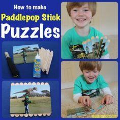 Paddlepop Stick Puzzles!