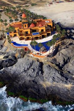 This is the ultimate Mexican Hacienda.  BEST hotel EVER!!!