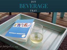 DIY Beverage Tray