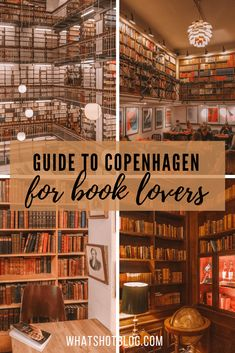 Guide to Copenhagen for Book Lovers: The Danish capital has loads of things to do for book lovers and book worms including beautiful libraries, cosy book cafes, new and secondhand book shops, tributes to H C Andersen and more. Europe Travel Tips, Travel Goals, European Travel, Travel Advice, Budget Travel, Travel Guides, Oslo, Literary Travel, Travel Literature