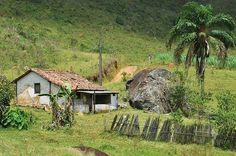 Roça. Assim é a paisagem das regiões rurais de meu país, o Brasil. A Natureza é grandiosa e bela. O povo é simples e amigável. Este local fica entre Bicas e Juiz de Fora, no estado de Minas Gerais, Brasil.