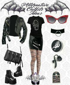 Weird Fashion, Dark Fashion, Emo Fashion, Gothic Fashion, Fashion Outfits, Pastel Goth Outfits, Gothic Outfits, Grunge Outfits, Alternative Outfits