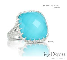 Inspired by the sparkling turquoise waters and crystal seas of the Caribbean. #stbarthsblue