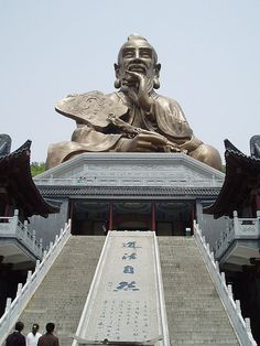 Lao-tzu, the founder of Taoism