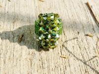 Swarovski crystal ring olvine extra shinning jewelry gift for friends mexico joyeria fall fashion https://www.kichink.com/buy/600804/chiiica/olive-anillo#.VmHss7iGSko