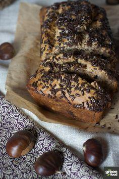 Plumcake alle castagne e cioccolato