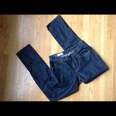 "Empyre Pistol Straight Blue Jeans Empyre Pistol Straight jeans. Navy blue wash. 100% cotton.  Waist measures 29"".  Inseam length 32"".  Rise 8 1/2"".  Excellent, new condition. Empyre Jeans"