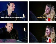 Look at those smiles! These two needed more time. I don't care what anyone else thinks, I loved Eccleston