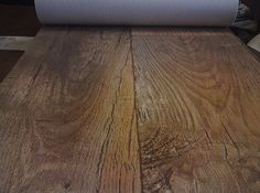 For our rental blond oak parquet vinyl tiles wood for Wood effect vinyl flooring bathroom