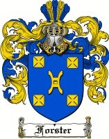 Forster Coat of Arms / Forster Family Crest