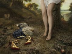 Louboutin's winter lookbook inspired by a French baroque painter