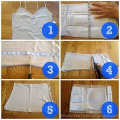 DIY No-Sew Splint Liner for wrapping your tummy while healing from diastasis recti- Fit2b.com