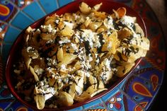 Balsamic Kettle Chips with Blue Cheese and Truffle Oil Appetizer Recipes, Snack Recipes, Cooking Recipes, Easiest Appetizers, Snacks, Yummy Recipes, Cheese Chips, Truffle Oil