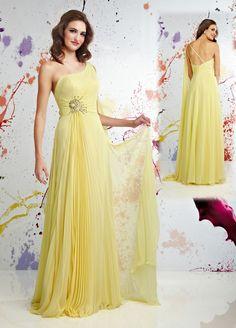 vestidos dama de honor plomo y amarillo - Buscar con Google