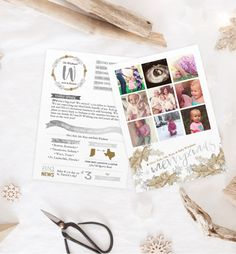 Gold and Silver Instagram Christmas Photo Cards  by PaperPeachShop Christmas Newsletter, Instagram Christmas, Christmas Photo Cards, Vows, Stamp, Messages, Unique Jewelry, Handmade Gifts, Silver
