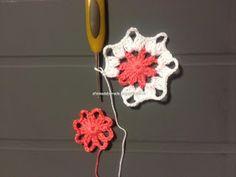 Butterfly edge - Part 2 Crochet Butterfly Pattern, Crochet Borders, Crochet Motif, Crochet Flowers, Crochet Patterns, Crochet Cross, Filet Crochet, Borboleta Crochet, Chrochet