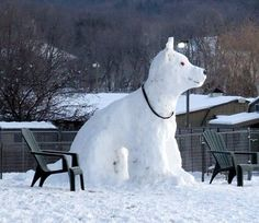Another snowdog. Though no need to necessarily make it so big, haha.