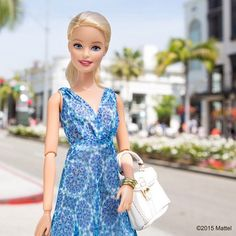 Nothing says Spring like a printed sundress, loving this look by @caroissa for @Nordstrom!  #barbie #barbiestyle