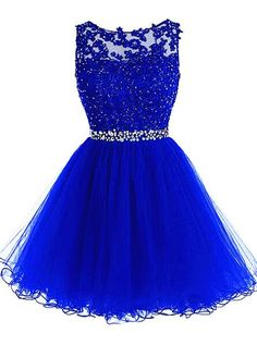 Cute Tulle Homecoming Dress,Lace Homecoming Dresses,Fitte Prom Dress,Short