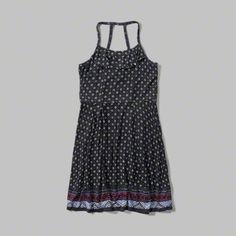 girls patterned knit romper | girls clearance | abercrombiekids.com