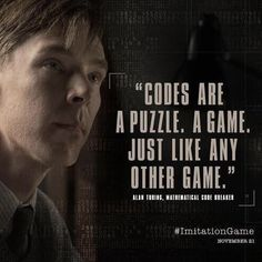 Alan Turing Benedict Cumberbatch In The Imitation Game Even A
