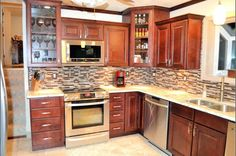 Image Result For Spanish Tile Kitchen Backsplash Farmhouse Cabinets Cabinet Colors