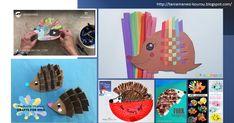 δραστηριότητες για το νηπιαγωγείοεκπαιδευτικό υλικό για το νηπιαγωγείο Hedgehog, Crafts For Kids, Animals, Crafts For Children, Animales, Kids Arts And Crafts, Animaux, Hedgehogs, Animal