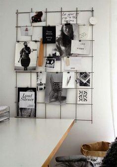Een poster en schilderij aan de muur is natuurlijk hartstikke leuk, maar vaak niet heel persoonlijk. Wat wel heel persoonlijk aan de muur is, is een prikbord! Met een prikbord zijn de mogelijkheden eindeloos. je kunt herinneringen in de vorm van foto's, toegangskaartjes en ansichtkaarten op een prikbord hangen, hem decoreren met foto's of voorwerpen…