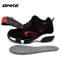 60d3476d8 Onke 2017 Winter Shoes Men Running Shoes Outdoor Women Sports Snow Shoe  Waterproof Sneakers for Male