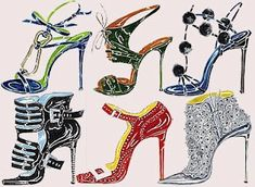 Shoe Illustration and I want them all