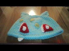 Gorro de Pokemon a crochet |Bulbasaur| - YouTube